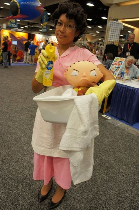 Consuela (Family Guy) cosplay. Oh, yeah! #autism #aspergers