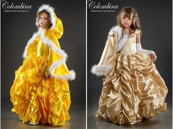 Girl carnival costume Princess Belle girl Princess by ArtColombina