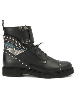 шипованных армейские ботинки