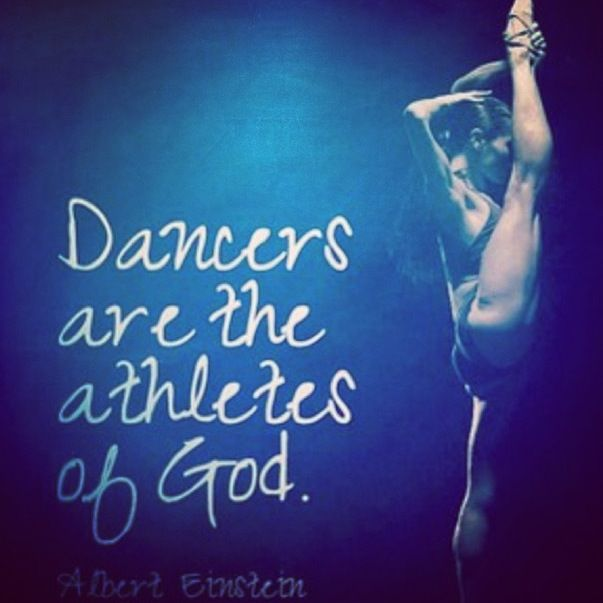 I used this qoute in an essay I wrote! '' is dance a sport?''