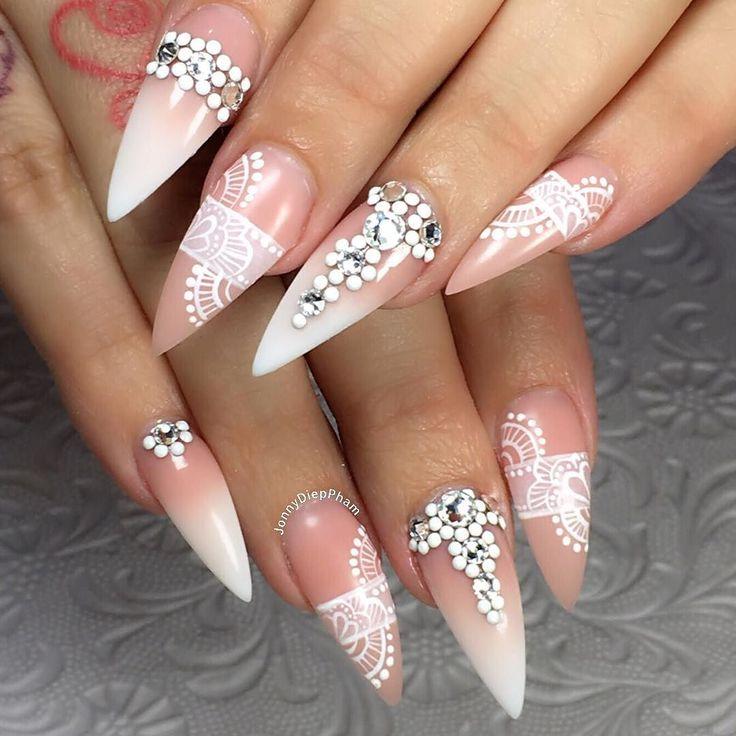 A different angles of Teena's Nails acrylic ombré or baby boomer effect with hand painted Nailart and Swarovski crystals. #nail #nails #nailart #nailpro #nailwow #nailswag #instanails#ignails#nailstagram #nailsofinstagram #nails2inspire #nailsoftheday #notd#nailaddict #nailartclub #pointy nails#nailpromote #naildesigns #nailartist #nailsmagazine #nailed#handpainted #gel #gelnails #gelpolish #sydneyartist #swarovskicrystals  @nailsmagazine @nailpromagazine @swan_nails#nailpromagazine…