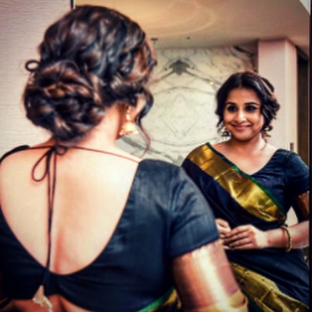 Vidya Balan wearing a Saree by Ayush Kejriwal For purchases email me at designerayushkejriwal@hotmail.com or what's app me on 00447840384707 We ship WORLDWIDE. Instagram - designerayushkejriwal