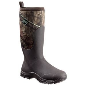 The Original Muck Boot Company Woody Sport II Waterproof Hunting Boots for Men - Bark/Mossy Oak Break-Up Country -