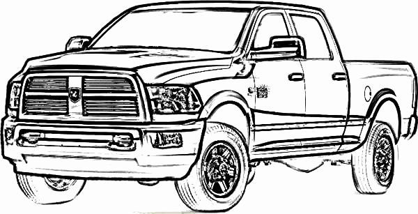 Printable Truck Coloring Page Inspirational Dodge Car Longhorn Truck Coloring Pages Color Truck Coloring Pages Cars Coloring Pages Monster Truck Coloring Pages
