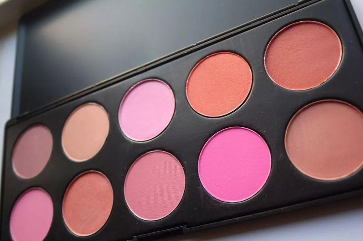 coastal scents - 10 blush palette - paleta 10 rubores pimax
