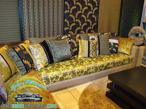 1000 images about salon marocain on pinterest salon marocain moroccan living rooms and salons. Black Bedroom Furniture Sets. Home Design Ideas
