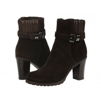 Botine dama Geox Trish coffee