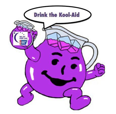 Ha! This is Hilarious!! and of course, I LOVE it!! I drank the Purple Kool-Aid!