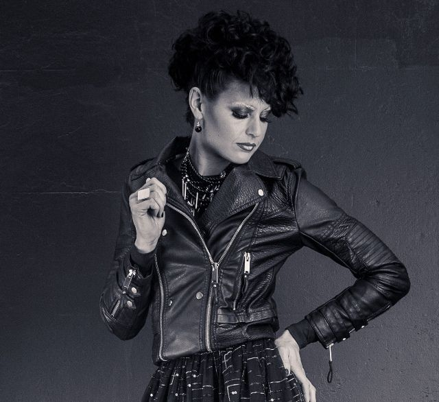 Leather jacket, Silk and Sequins #dontdopretty #dressedtoempress #DDP