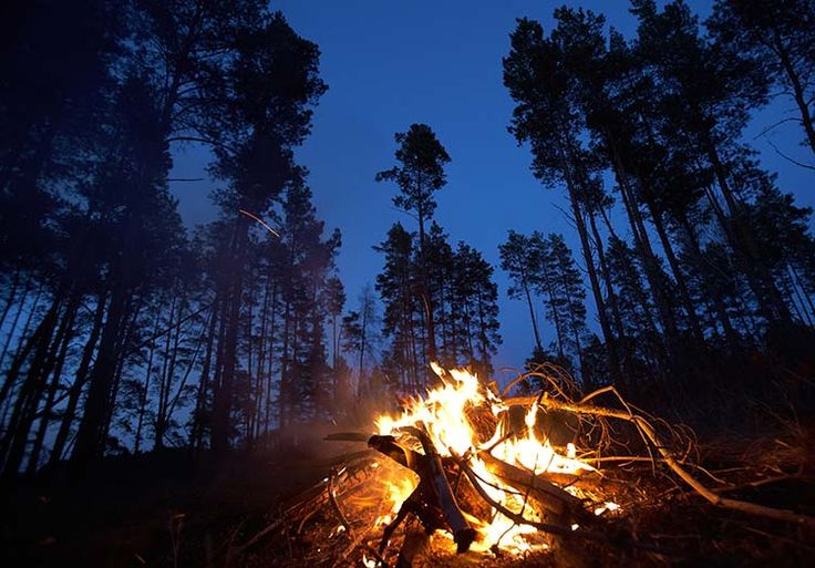 build the perfect campfire