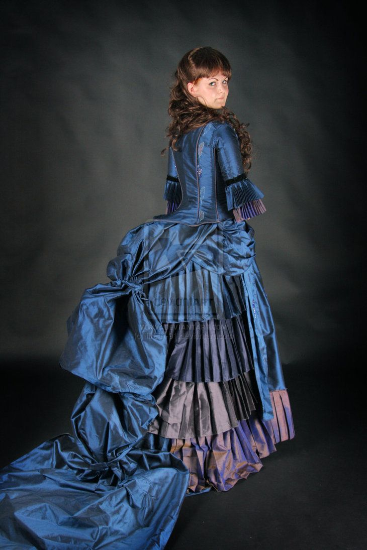 Forced to wear a ball gown - Bustle Dress