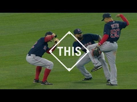 Who Has The Best Moves? Red Sox's Outfield Dance Celebrations, Ranked   Boston Red Sox   NESN.com