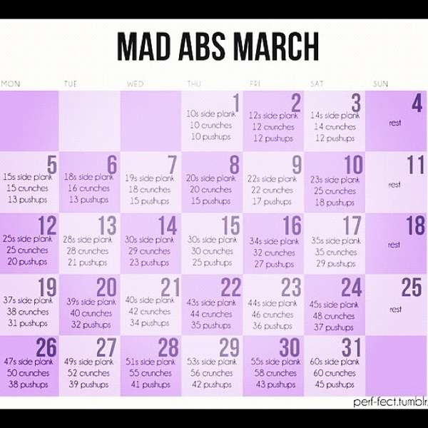 102 best Workout challenges images on Pinterest | 3 month workout ...
