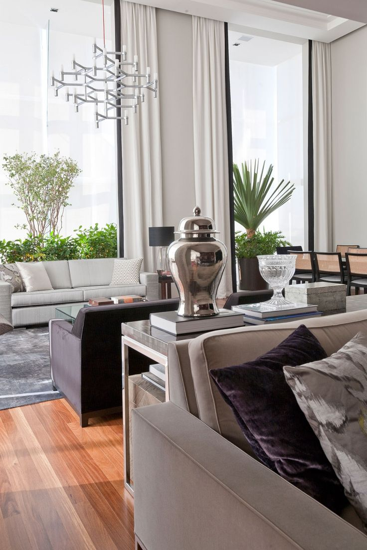 An elegant interior by marcelo mota arquitetura 9