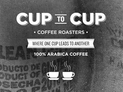 great #typo and layout: Design Inspiration, Graphic Design, Cup, Logo, Coffee Branding, Brand Design, Coffee Stuff, Coffee Design, Coffee Shop