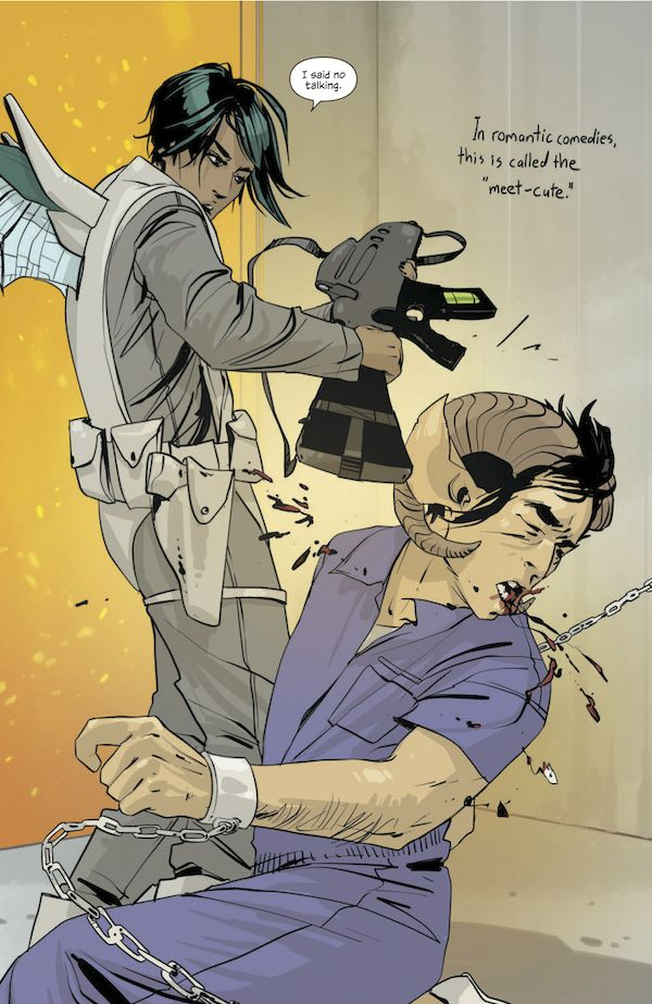 """Saga (Brian K Vaughan and Fiona Staples, 2012) An amazing comic and one of """"13 Comics That Smash The Patriarchy"""" on BuzzFeed"""