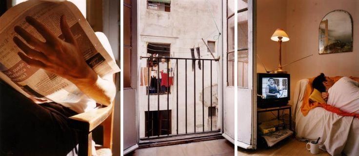 DAVID HILLIARD - Untitled, Barcelona, TV, 1997