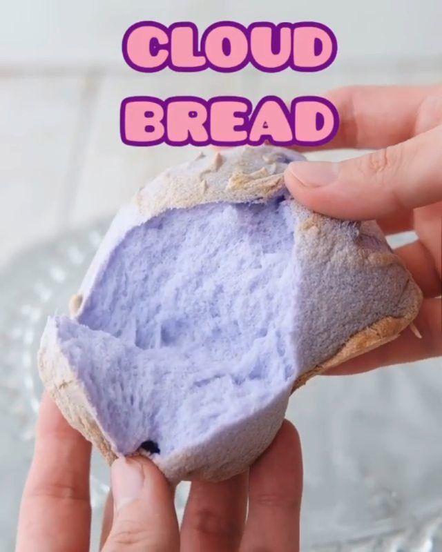 Resep Masakan Rumahan On Instagram Roti Awan Reposted From Henjiwong Bikin Roti Awan Yukkk Cuma 3 Bahan Aja Rotis Resep Masakan Resep Makanan