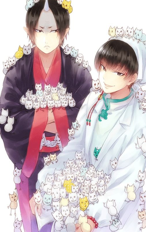 Hoozuki no Reitetsu. Hoozuki & Hakutaku