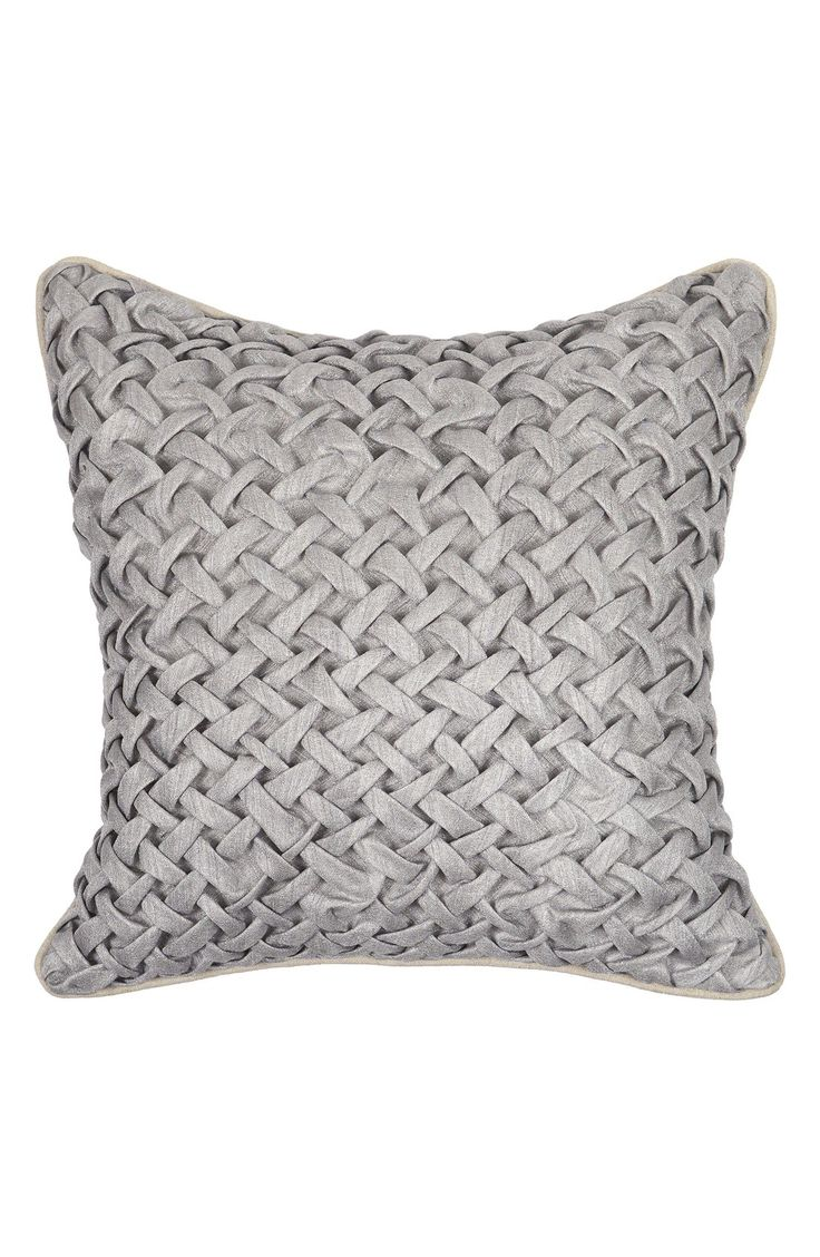 best villa home collection images on pinterest  accent  - villa home collection 'nebra' grey pillow