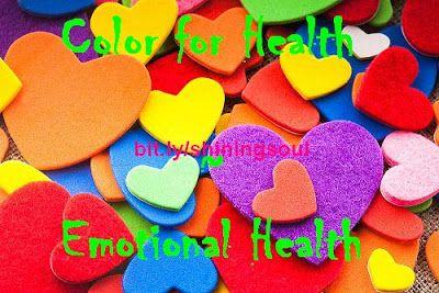 ShiningSoul: Color for Health ~ Emotional Health