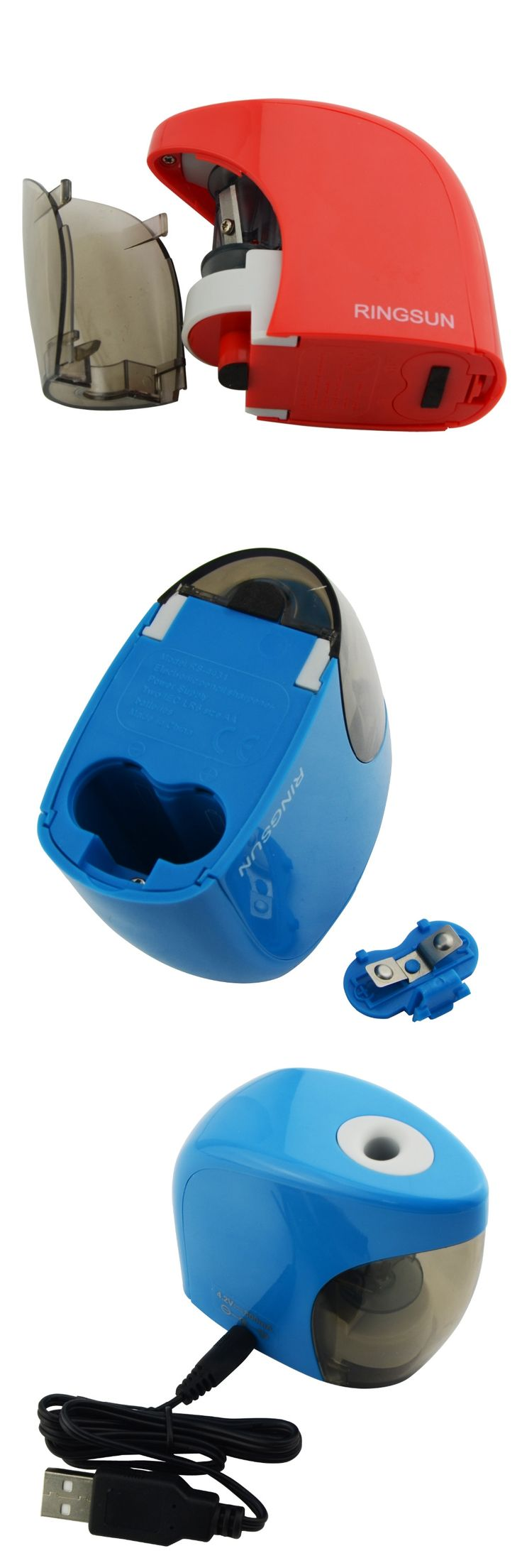 Sharpener Electric Pencil Sharpener USB & Batteries Auto Pencil Sharpener Sacapuntas Material Escolar Aiguisoir Puntenslijper