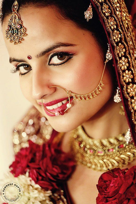 Bridal Gold Nose Ring Online Shopping
