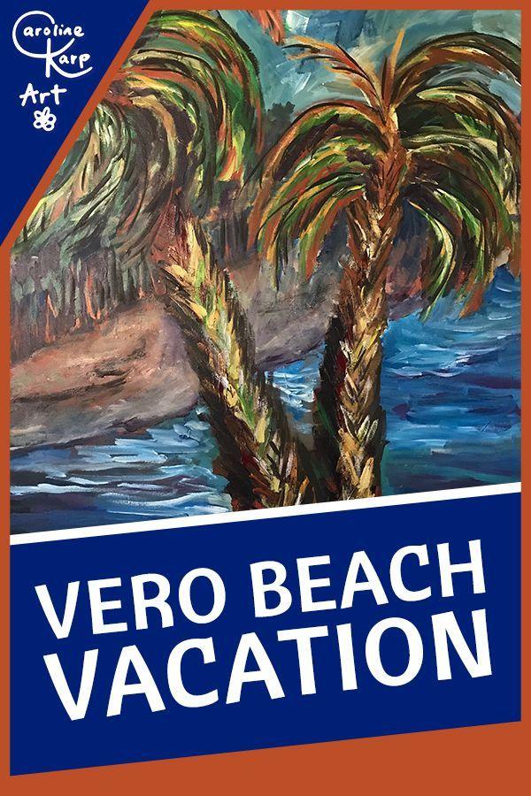 Vero Beach Vacation 30x40x1 5 Acrylic Galaxy Painting