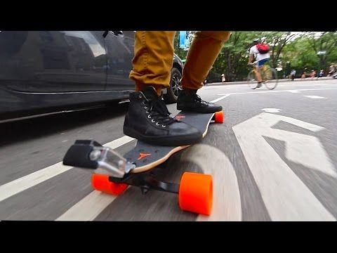 Overpowered Motorized Skateboard