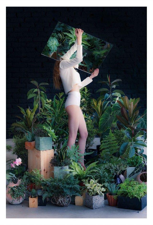 Les espaces verts by Salmiana . Les couleurs que l'on aura avec le fond noir et la moquette grise et les plantes, pas si pire