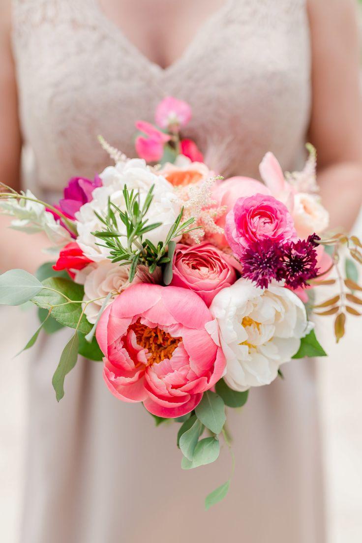 1335 best Flowers: Pink images on Pinterest   Bridal bouquets ...