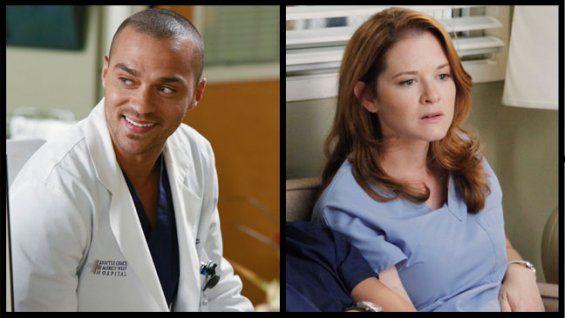 grey's anatomy on abc | Grey's Anatomy' Postmortem: Sarah Drew and Jesse Williams Talk April ...