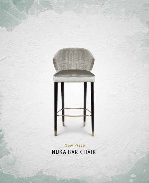 NUKA Bar Chair By BRABBU