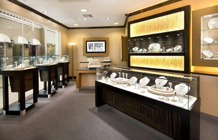 W.M Phelps Custom Jewelers Manufacture & Design of Store FIxtures by Artco Group