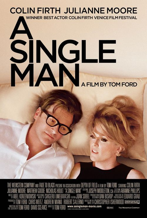 A Single Man. A heartbreaker with a stunning performance by Firth, as a man deeply tormented by the death of his lover. A must see.