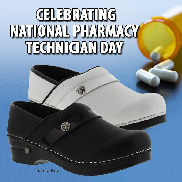 Happy National Pharmacy Technicians Day! Get your feet comfortable and  stylish with the Sanita Fara