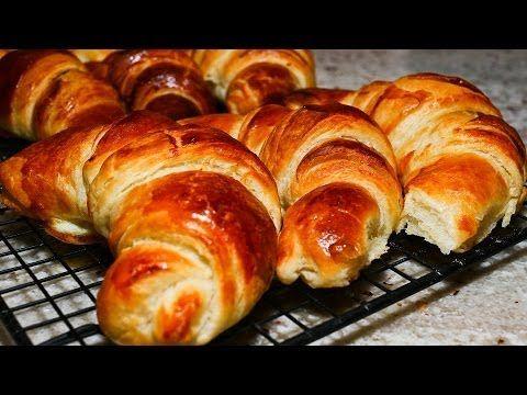 Como hacer Croissants Bake With Anna Olson programa compelto latino/español - YouTube