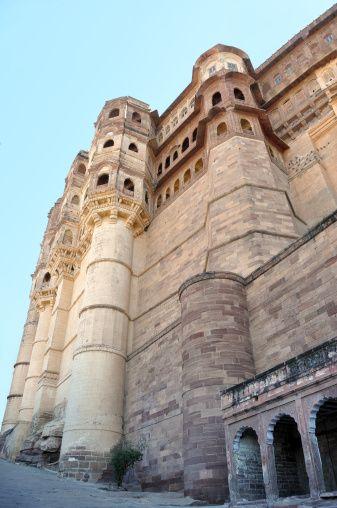 View of Mehrangarh Fort