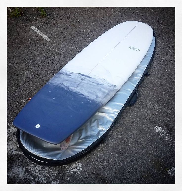 Custom Mini Simmons with grey smoke resin tint. #custommade #minisimmons #surfboard #madetoorder #resintint http://ift.tt/19MEsb6 http://ift.tt/1v0LElc