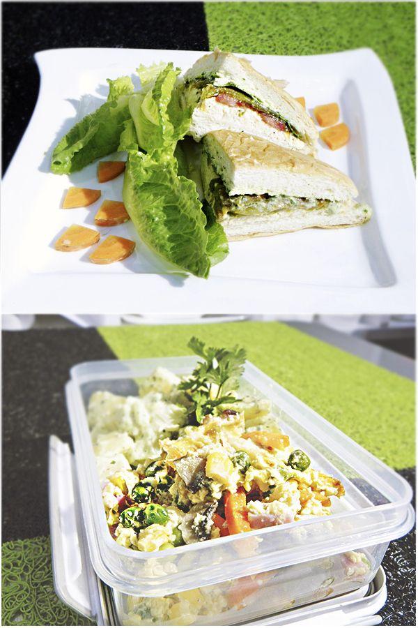 El sándwich y la ensalada siempre serán el mejor complemento, combina estas dos recetas para preparar el  mejor menú.
