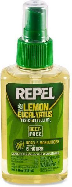 Repel Lemon Eucalyptus Pump-Spray Insect Repellent - 4 fl. oz. 4 Oz