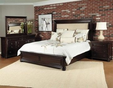 Samuel Lawrence Cal King bedroom set. Love this style for our master.