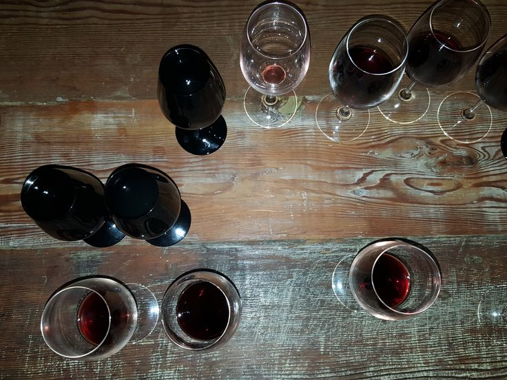 Nothing like a black glass tasting to test your wine knowledge