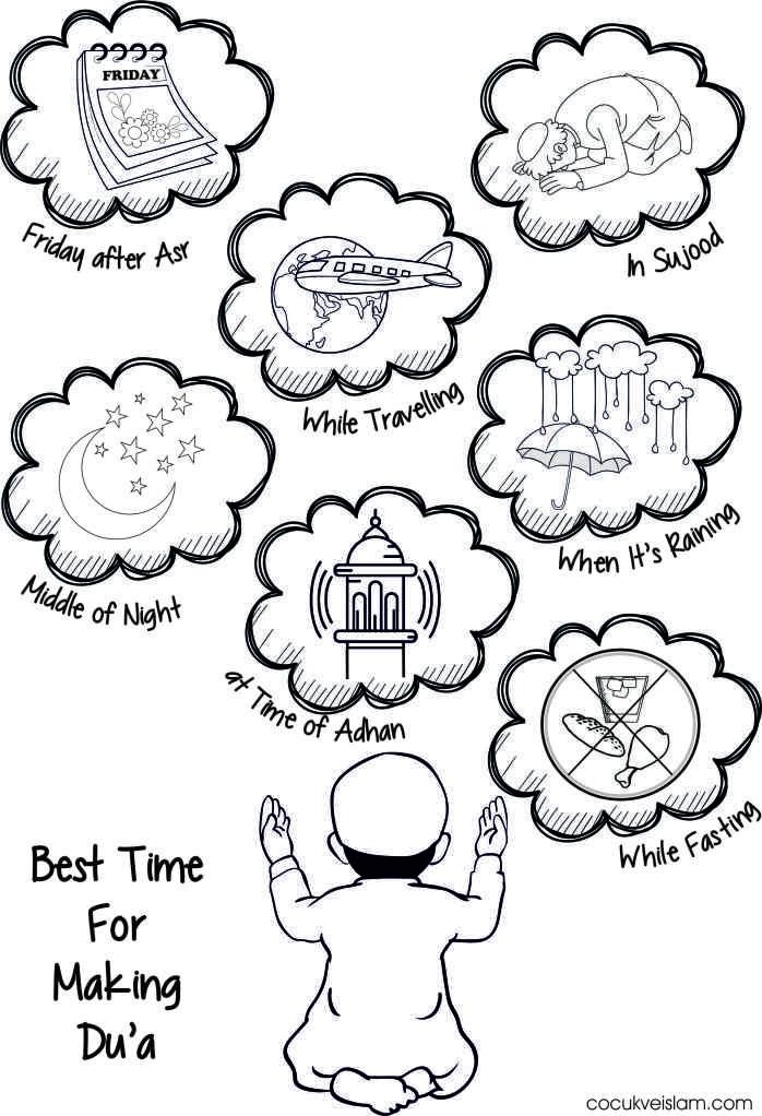 Best Time For Making Dua Okul Oncesi Okul Evde Egitim