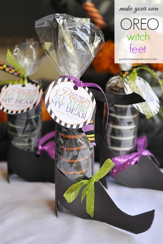 girls down jackets Free printable witch shoes and tag for Oreo Halloween treat   This is such a fun idea