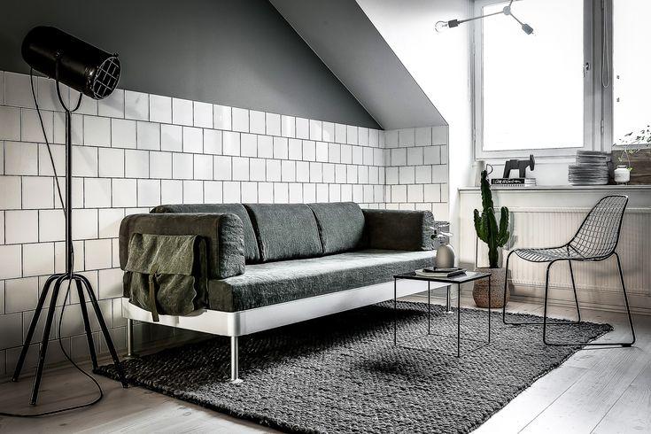 Se Bemz x Tom Dixons nya överdrag till IKEAs soffa Delaktig | Henrik Nero