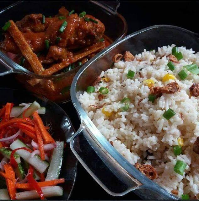 Resepi Nasi Jagung Ayam Masak Merah Jelatah Jadi Pilihan Seisi Keluarga Cuti Mula Lagi Ibu Ibu Mesti Tercari Carai Menu Apa Untu Makanan Jagung Nasi