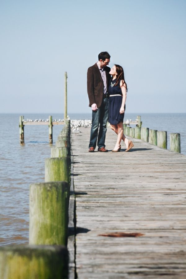 The Pier – Hilary & Alan's engagement photography by So Life Studios » Engaged Wedding Blog