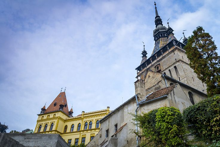 The Clock tower in Sighisoara