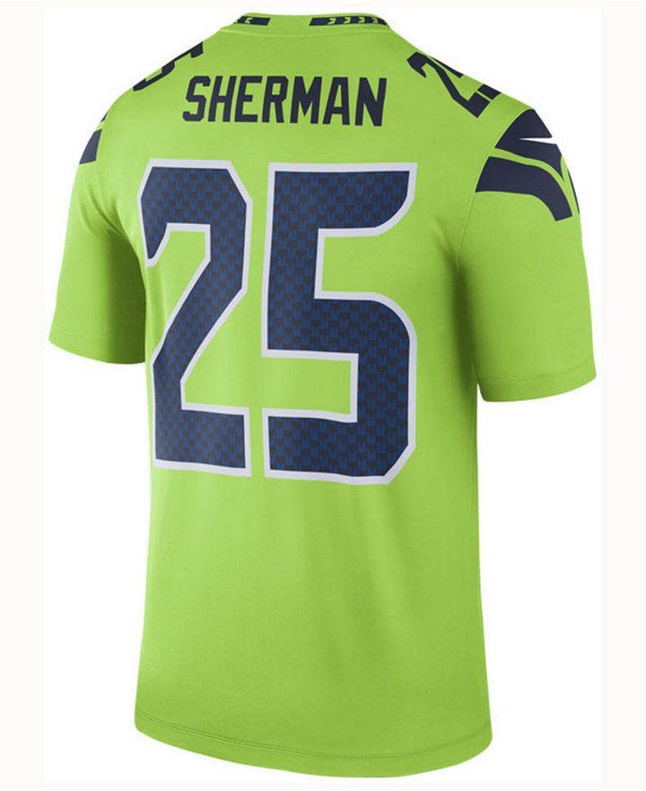hot sales d2e6e ff307 Nike Men's Richard Sherman Seattle Seahawks Legend Color ...